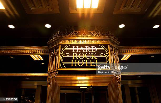 The Hard Rock Hotel in Chicago Illinois on MARCH 25 2011