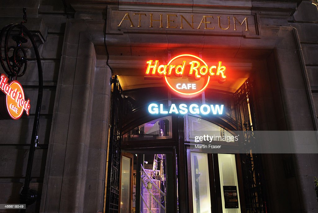The Hard Rock sponsored 'The Scottish Music Weekend' event at Hard Rock Cafe on February 2, 2014 in Glasgow, Scotland.