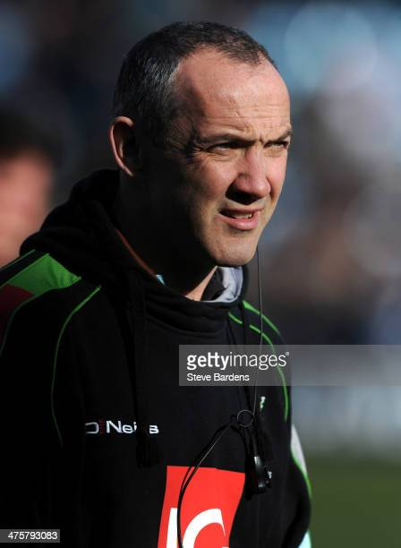 The Harlequins Director of Rugby Conor O'Shea before the Aviva Premiership match between Harlequins and Worcester Warriors at Twickenham Stoop on...