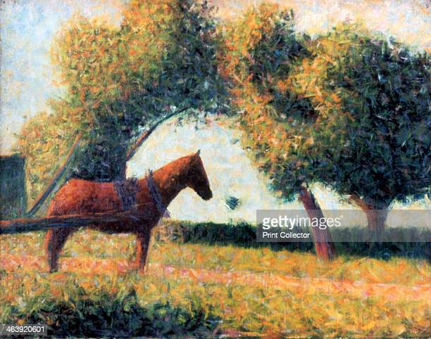 'The Harnessed Horse' 1883 From the collection of the Guggenheim Museum New York USA