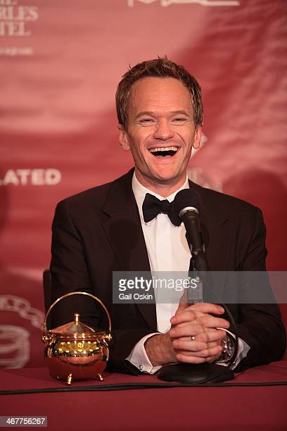 The Hasty Pudding Theatricals honor Neil Patrick Harris as the 2014 Man of the Year at Farkas Hall on Friday February 7 2014 in Cambridge...