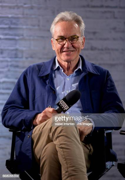 The Hatton Garden Job cast member Larry Lamb during a BUILD Series LDN event at the Capper Street Studio in London