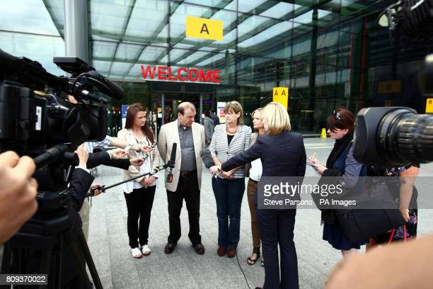 The Hawker family of Lindsay Ann Hawker who was murdered in Japan sister Louise father Bill mother Julia and sister Lisa are interviewed by members...