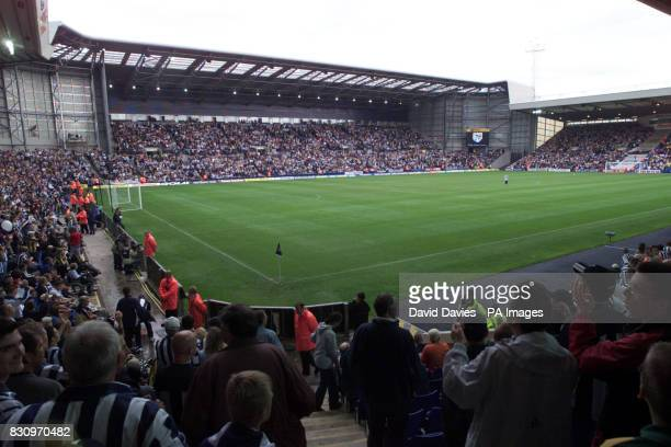 The Hawthorns football ground home of West Bromwich Albion FC 23/01/03 a Football match which are the perfect places to score in love research...