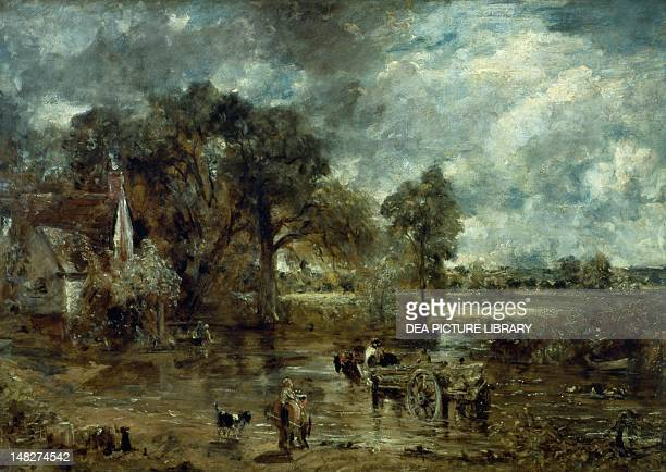 The hay cart by John Constable London Victoria And Albert Museum