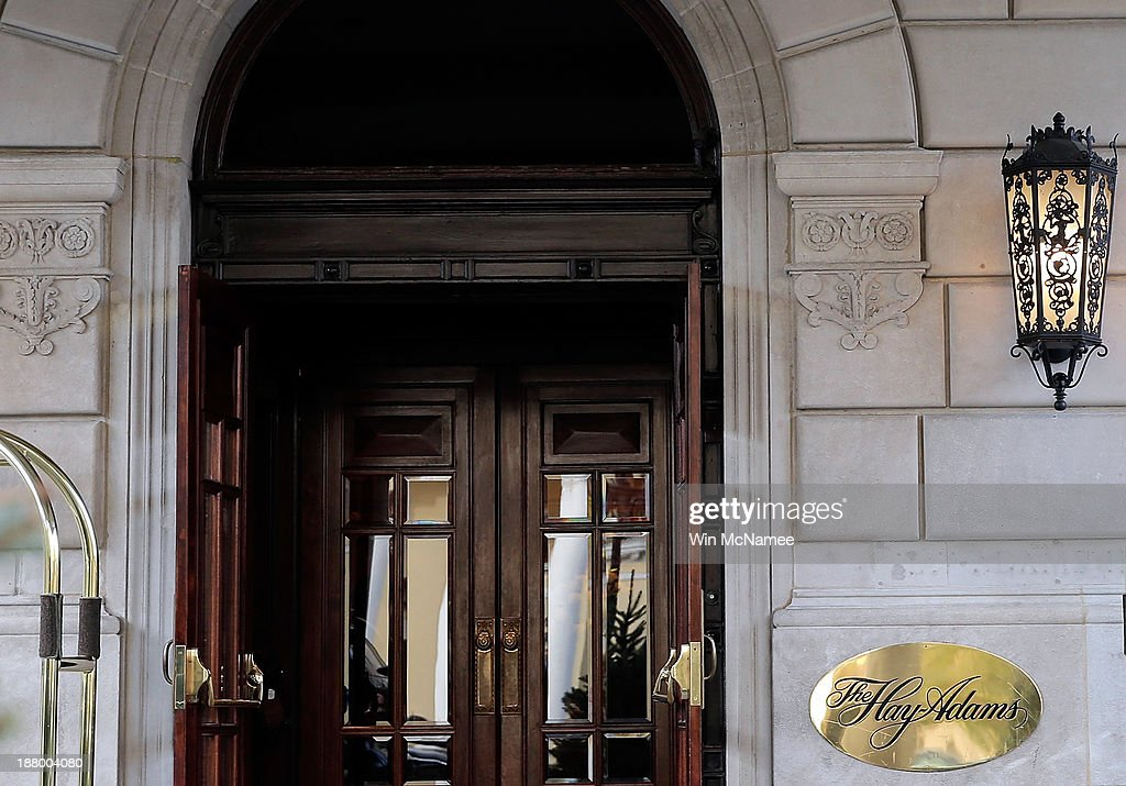 The Hay-Adams Hotel is shown on November 14, 2013 in Washington, DC. Two U.S. Secret Service agents were removed from U.S. President Barack Obama's protective detail after an internal investigation revealed that an agent allegedly tried to re-enter a female guest's hotel room after leaving behind a bullet from his service weapon, and also that the two agents had allegedly sent sexually suggestive emails to a female subordinate.