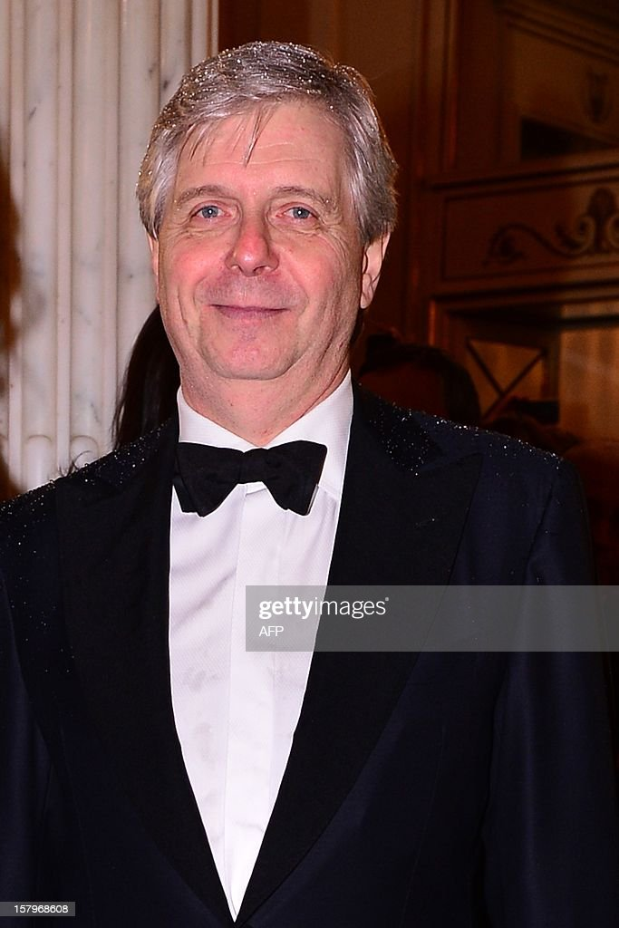 The head of Milan's Scala opera house Stephane Lissner stands in the foyer prior the opening of the season on December 7, 2012 in Milan. The 2012/2013 La Scala opera house season opens with 'Lohengrin' by Richard Wagner. AFP PHOTO / GIUSEPPE CACACE