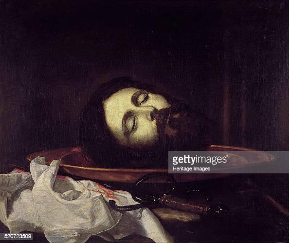 The Head of Saint John the Baptist Found in the collection of Real Academia de Bellas Artes de San Fernando Madrid