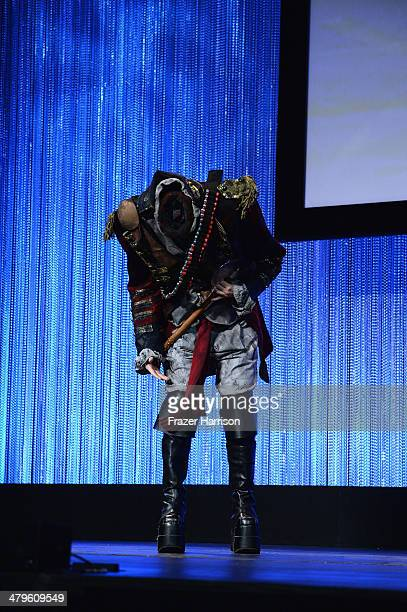 The Headless Horseman on stage at The Paley Center for Media's PaleyFest 2014 Honoring 'Sleepy Hollow' at Dolby Theatre on March 19 2014 in Hollywood...