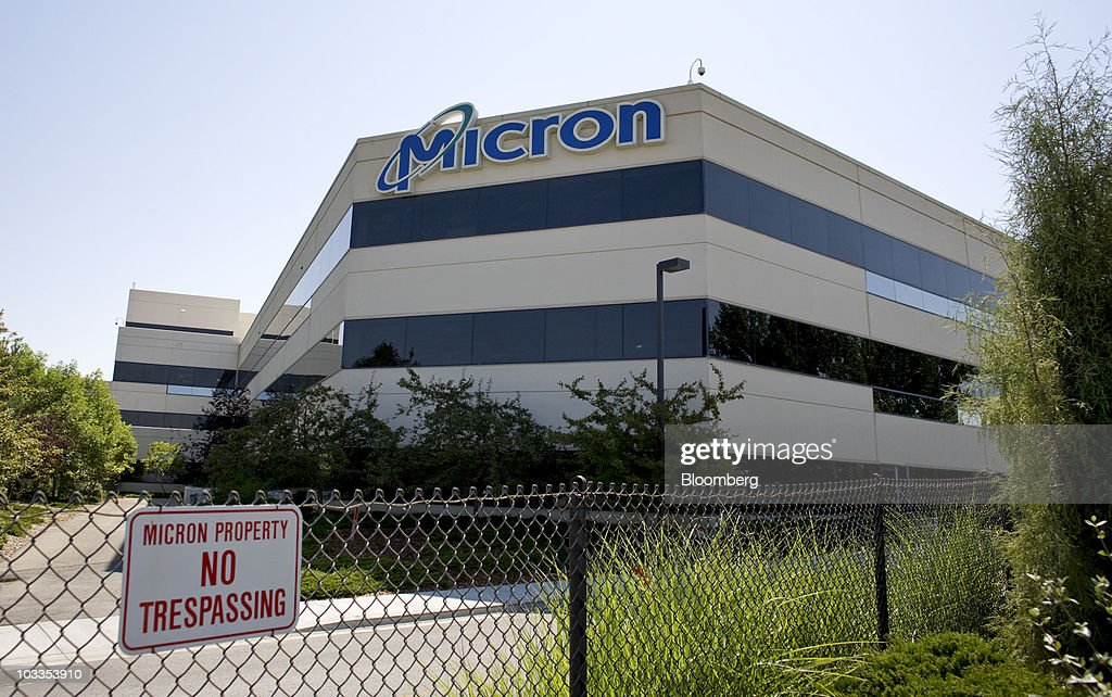 The headquarters building of Micron Technology Inc stands in Boise Idaho US on Wednesday Aug 4 2010 The Boise metropolitan area home to a third of...