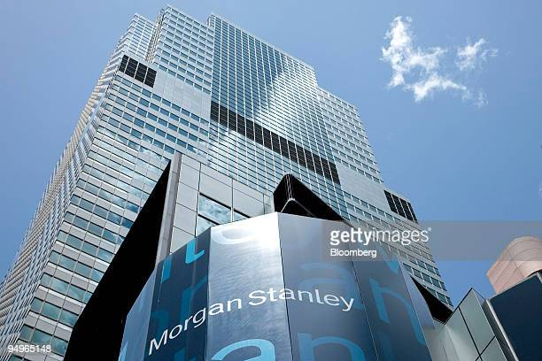 The headquarters building of Morgan Stanley stands at 1585 Broadway in New York US on Tuesday July 14 2009 Morgan Stanley will report second quarter...