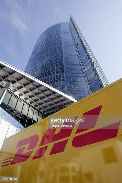 The headquarters of Deutsche Post AG the world's largest global delivery company is pictured on March 14 2006 in Bonn Germany Deutsche Post launching...