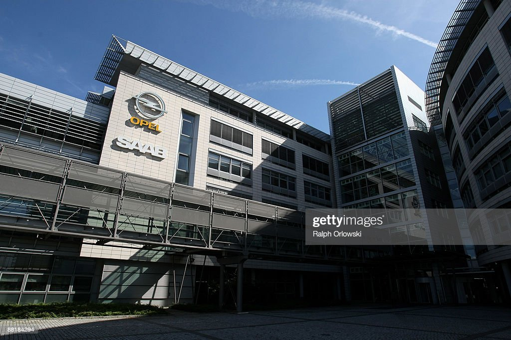 The headquarters of German carmaker Adam Opel GmbH stands in the light on June 3, 2009 in Ruesselsheim near Frankfurt am Main, Germany. After tough negotiations Canadian car-parts maker Magna International Inc. was chosen to rescue General Motors European division, including Opel's locations in Kaiserslautern, Eisenach, Bochum and their headquarters in Ruesselsheim with bridge loans, provided by German government.