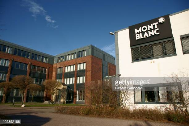 The headquarters of Montblanc in Hamburg Germany circa 2007