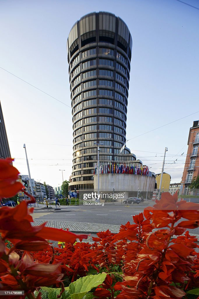 The headquarters of the Bank for International Settlements (BIS) is seen in Basel, Switzerland, on Tuesday, June 25, 2013. Central banks can't expand loose monetary policy without exacerbating risks to world economies, the Bank for International Settlements said this week. Photographer: Gianluca Colla/Bloomberg via Getty Images
