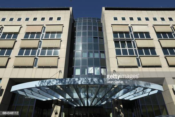 The headquarters of the Berlin state crime bureau stand on May 18 2017 in Berlin Germany Police are investigating a possible coverup at the Berlin...