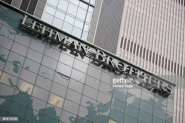 The headquarters of the Lehman Brothers investment bank on Sixth Avenue September 14 2008 in New York City The troubled Wall Street investment bank...