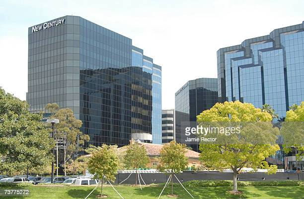The headquarters of The New Century Financial Corporation is seen April 2 2007 in Irvine California The subprime lending company filed Chapter 11...