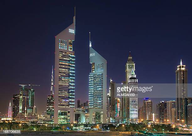 The heart of Dubai