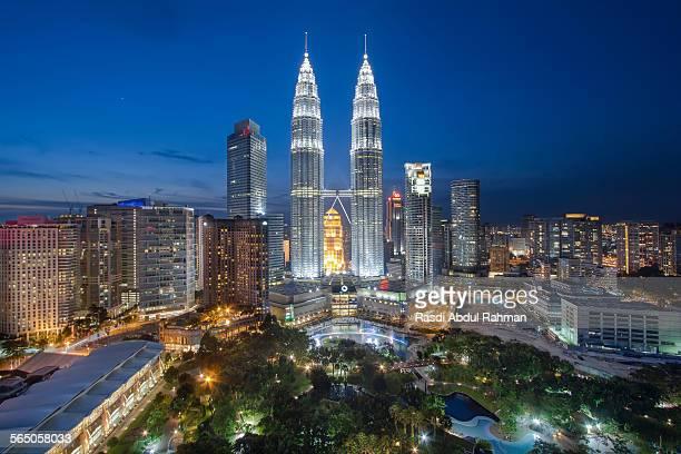 The heart of Kuala Lumpur
