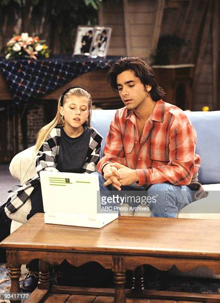 HOUSE 'The Heartbreak Kid' Season Six 2/9/93 Jesse was assisted by Stephanie with his laptop computer