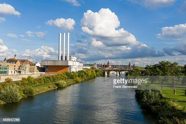 The Heating Plant is located at the river Main and awarded for ist modern architecture