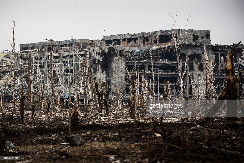 Donetsk Airport 2016