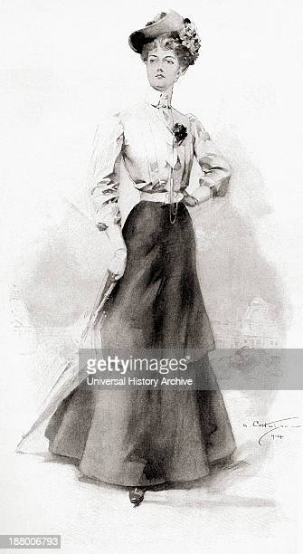 The Height Of Fashion In 1904 From The Century Illustrated Monthly Magazine May To October 1904
