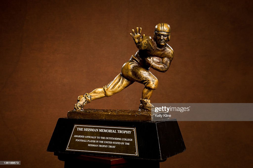 The Heisman Trophy, on December 11, 2011 in New York City.