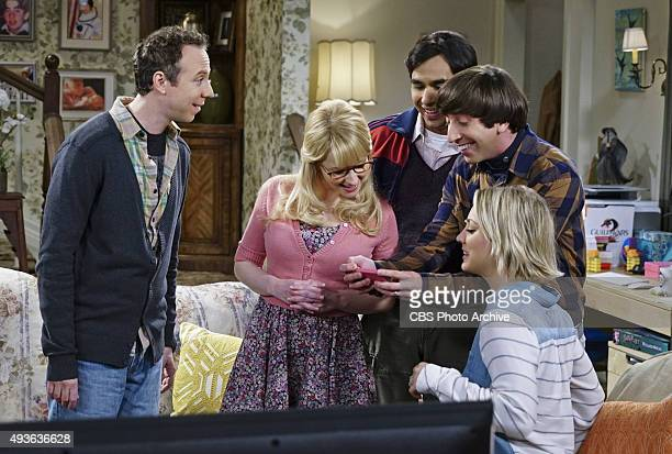 'The Helium Insufficiency' Penny and Bernadette download a dating app on Amy's phone to try and find her a new man on THE BIG BANG THEORY Monday Oct...