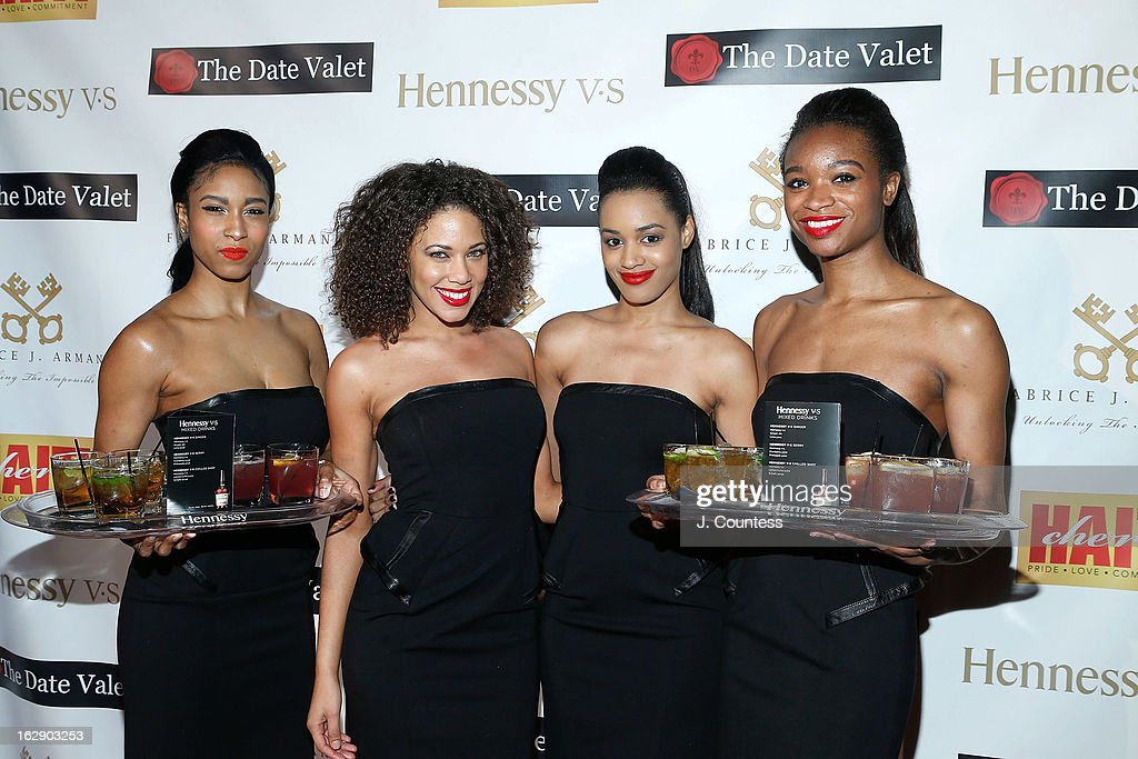 The 'Hennessy Girls' attend the 3rd Annual