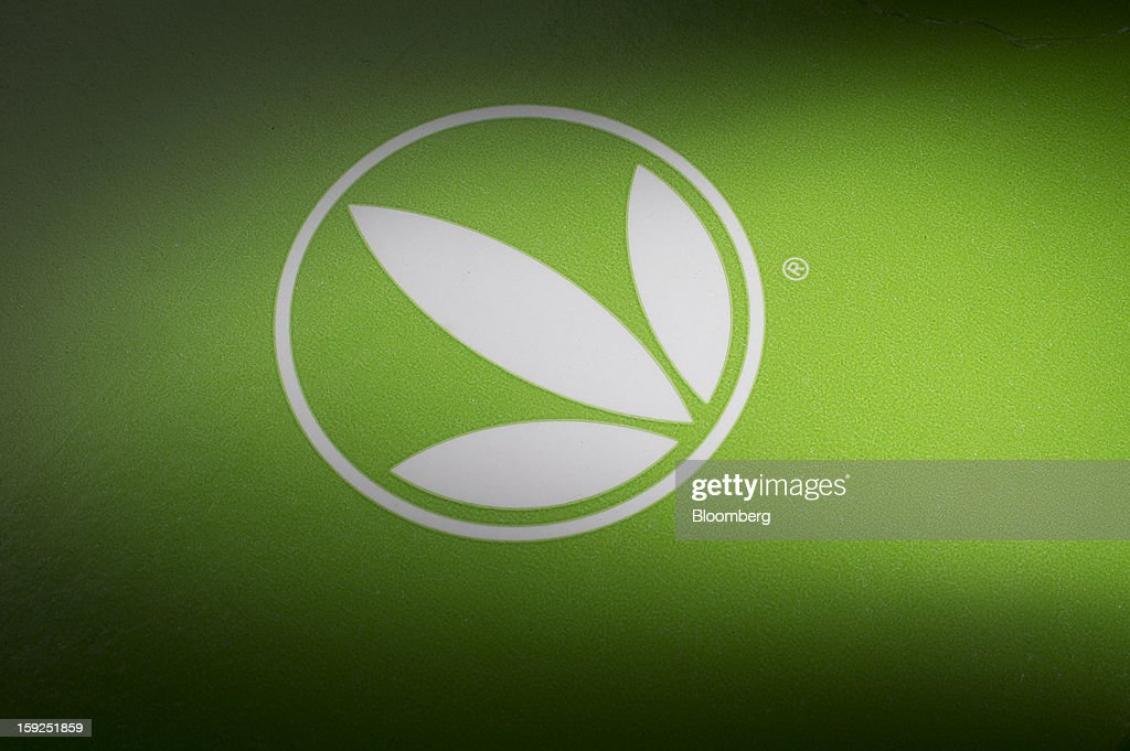 The Herbalife Ltd. logo is displayed for a photograph in New York, U.S., on Thursday, Jan. 10, 2013. Timothy Ramey, an analyst at D.A. Davidson & Co., said that Herbalife Ltd. has a legal corporate structure, rejecting hedge-fund manager Bill Ackman's theory that the direct-selling company operates as a pyramid scheme. Photographer: Scott Eells/Bloomberg via Getty Images