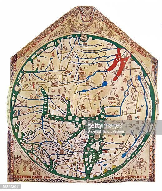 The Hereford Mappa Mundi of 1280