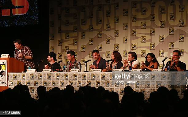 REBELS 'The Heroes of Star Wars Rebels Panel' and fan preview screening at ComicCon that took place on Thursday July 24 2014 in San Diego