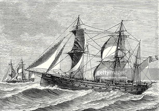 The Heroine Armored Frigate Launched In 1864