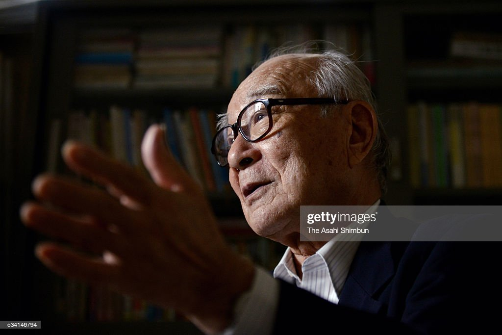 The Hidankyo (Japan Confederation of A-and H-Bomb Sufferers Organizations) Secretary General Terumi Tanaka speaks during the Asahi Shimbun interview on May 25, 2016 in Tokyo, Japan. U.S. President Barack Obama will make a historic visit Hiroshima after the Group of Seven summit.