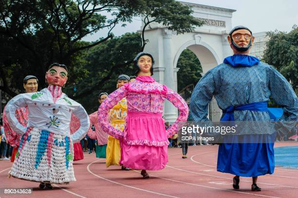 PHILIPPINES MARIKINA NCR PHILIPPINES The Higantes Festival was celebrated to give praise to San Clemente the patron of the fishermanThe Biggest...