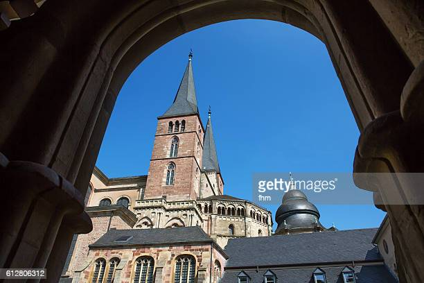 The High Cathedral of Saint Peter in Trier (German: Hohe Domkirche St. Peter zu Trier), or Cathedral of Trier (German: Trierer Dom)