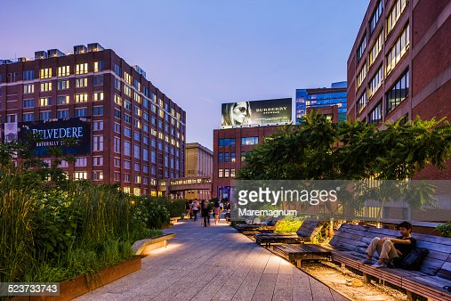 The High Line Elevated Park