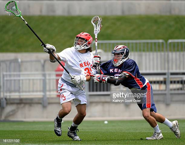 The High School Boys' Lacrosse Championship Finals at Dick's Sporting Goods Park in Commerce City between Regis Jesuit and Kent Denver Regis' Tanner...