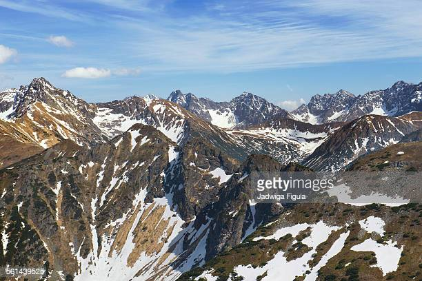 The High Tatra mountains. Poland and Slovakia.