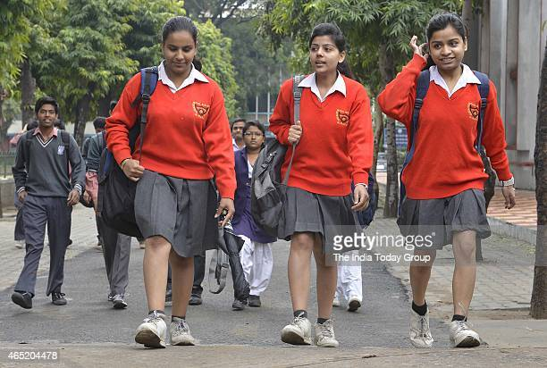 The Higher Secondary Examination of 12th grade in New Delhi