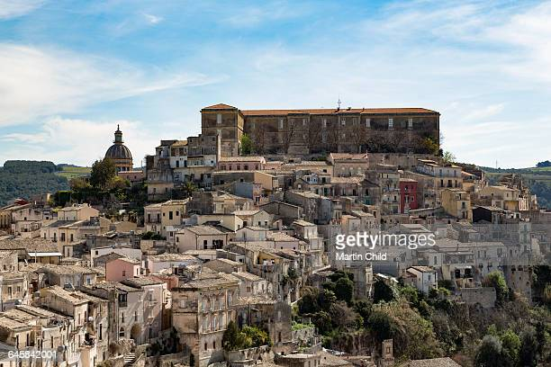 The hill town of Ragusa Ibla