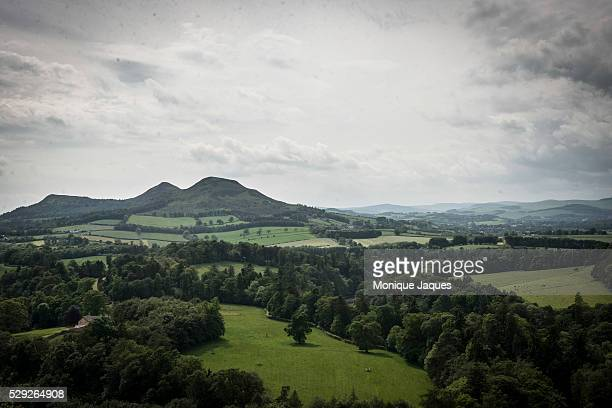 The hills near the Scottish/English border on June 12th 2014 Views and snapshots from Scotland a country that will be voting a referendum on whether...