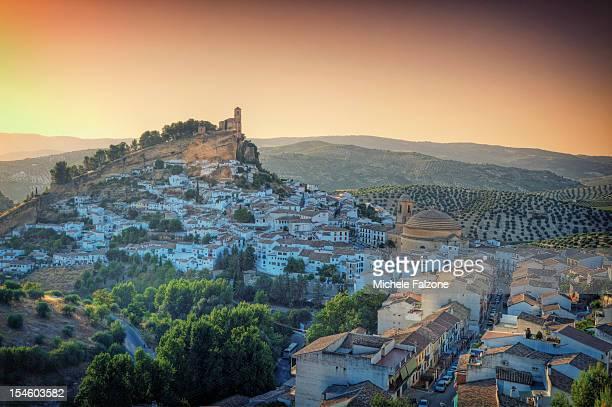 The hilltop village of Montefrio, Grenada Province