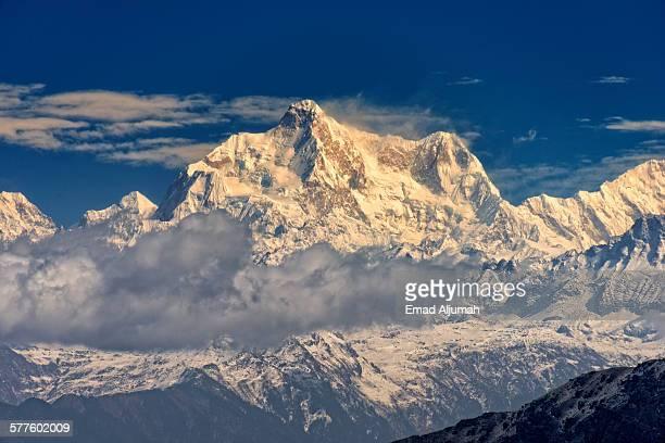 The Himalayas, Kanchanjangha, West Bengal, India