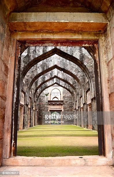 The Hindola Mahal, Mandu, Madhya pradesh