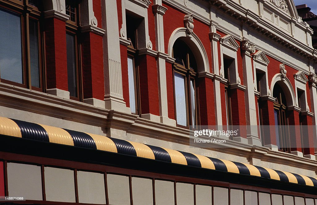 The historic buildings of Fremantle : Stock Photo