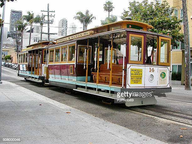 The historic cable car on San francisco