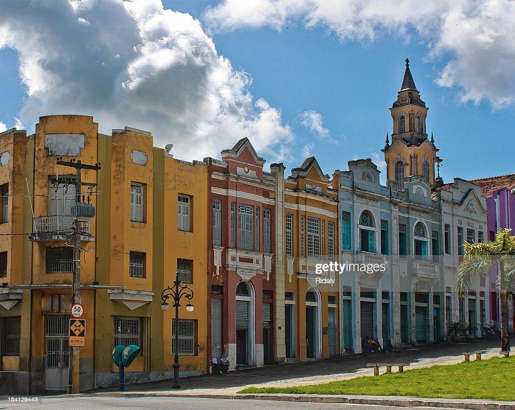 The Historic Centre of João Pessoa : Stock Photo